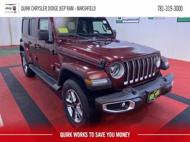2021 Jeep Wrangler UNLIMITED SAHARA 4X4 Marshfield MA