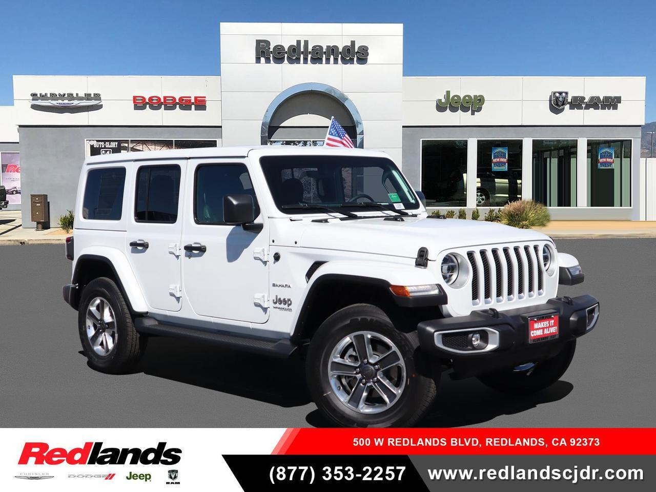 2021 Jeep Wrangler UNLIMITED SAHARA 4X4 Redlands CA