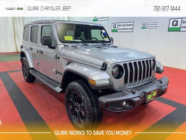 2021 Jeep Wrangler UNLIMITED SAHARA ALTITUDE 4X4 Braintree MA
