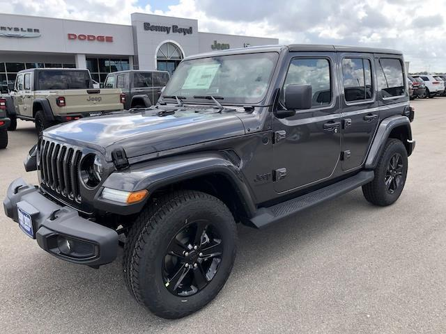 2021 Jeep Wrangler UNLIMITED SAHARA ALTITUDE 4X4 Lockhart TX