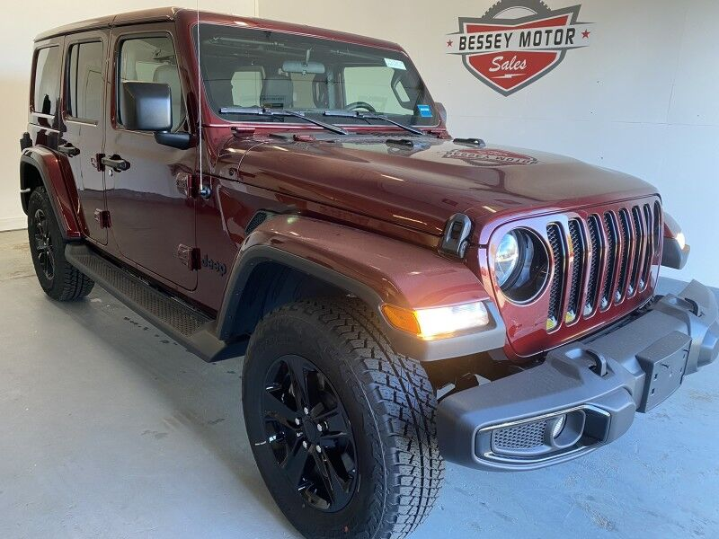 2021 Jeep Wrangler UNLIMITED SAHARA ALTITUDE 4X4 South Paris ME
