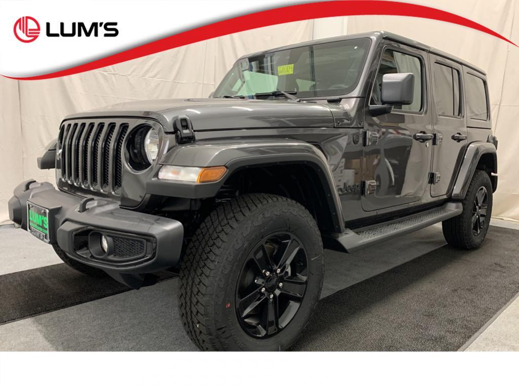 2021 Jeep Wrangler UNLIMITED SAHARA ALTITUDE 4X4 Warrenton OR