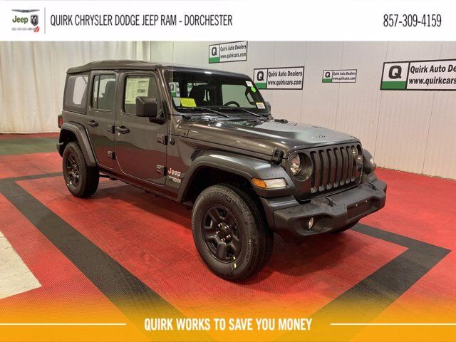 2021 Jeep Wrangler UNLIMITED SPORT 4X4 Boston MA