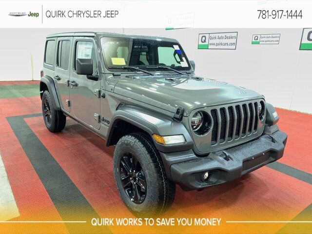 2021 Jeep Wrangler UNLIMITED SPORT ALTITUDE 4X4 Braintree MA
