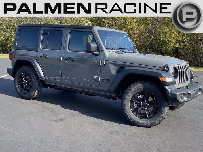 2021 Jeep Wrangler UNLIMITED SPORT ALTITUDE 4X4 Racine WI