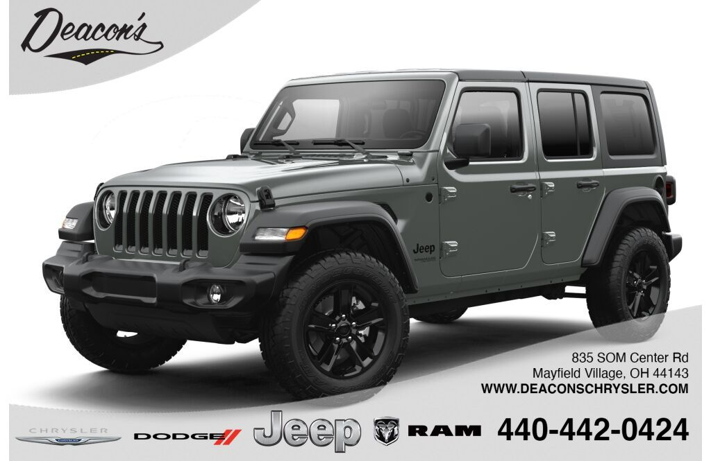 2021 Jeep Wrangler UNLIMITED SPORT ALTITUDE 4X4 Mayfield Village OH