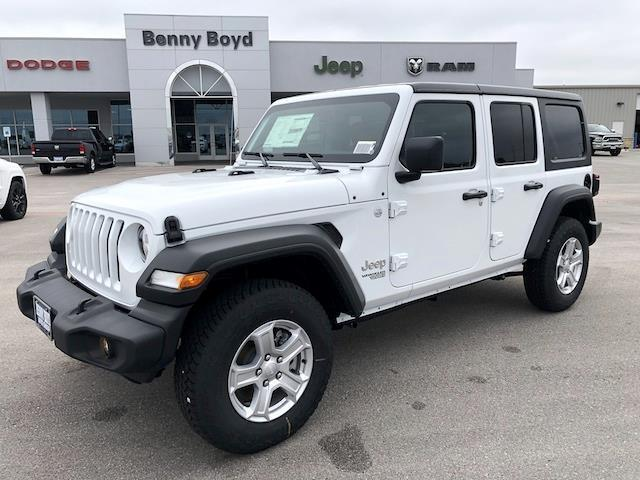 2021 Jeep Wrangler UNLIMITED SPORT S 4X4 Lockhart TX