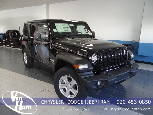 2021 Jeep Wrangler UNLIMITED SPORT S 4X4 Stoughton WI