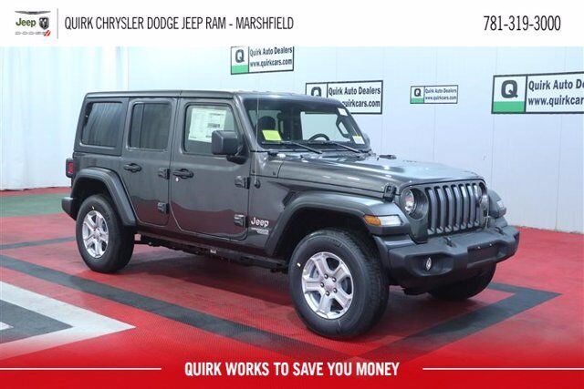 2021 Jeep Wrangler UNLIMITED SPORT S 4X4 Marshfield MA