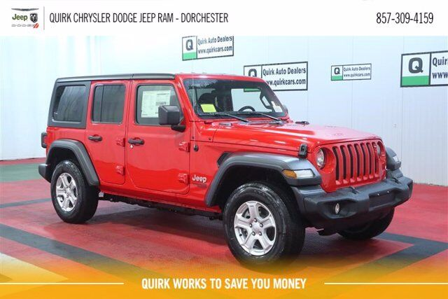 2021 Jeep Wrangler UNLIMITED SPORT S 4X4 Boston MA