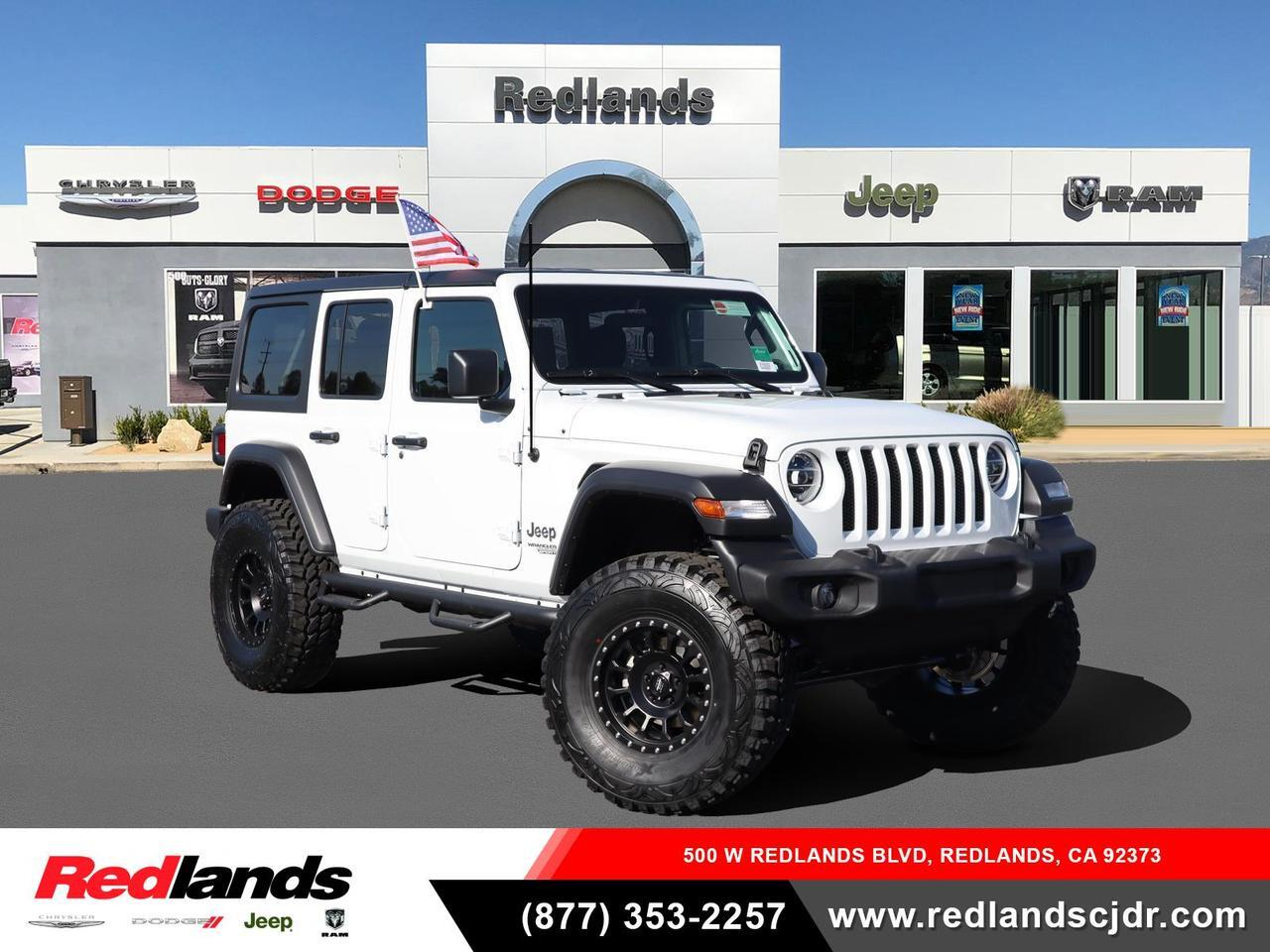 2021 Jeep Wrangler UNLIMITED SPORT S 4X4 Redlands CA