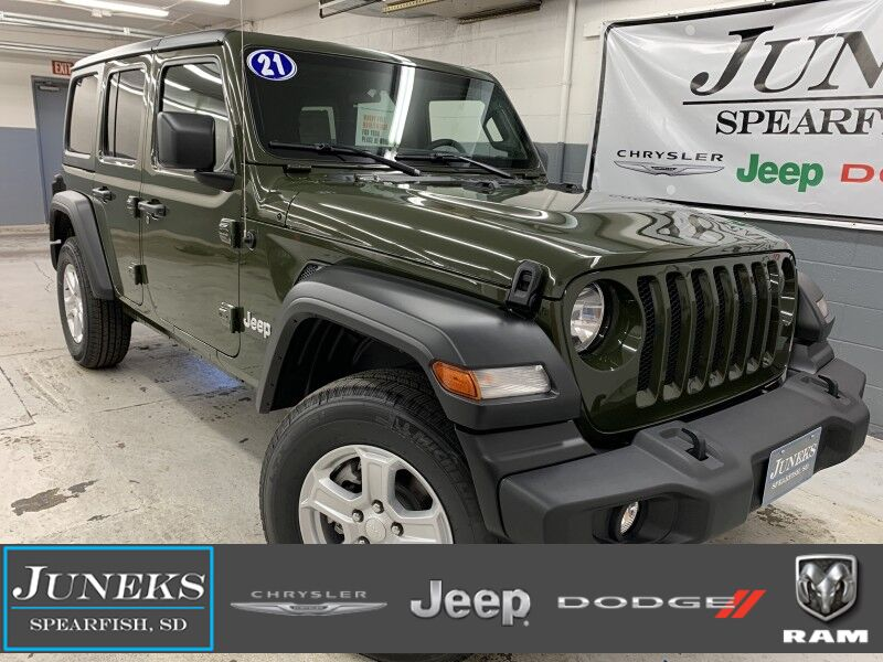 2021 Jeep Wrangler UNLIMITED SPORT S 4X4 Spearfish SD