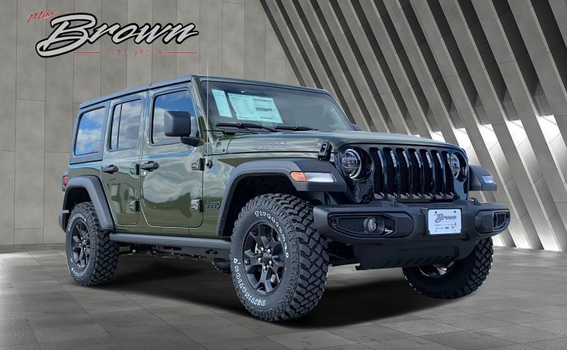 2021 Jeep Wrangler UNLIMITED WILLYS 4X4 Granbury TX