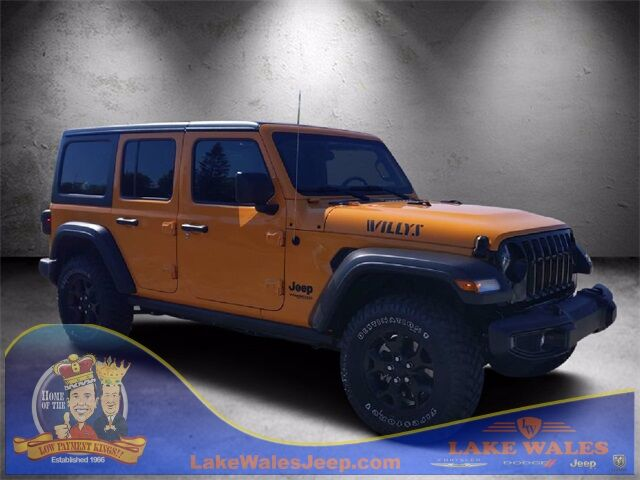 2021 Jeep Wrangler UNLIMITED WILLYS 4X4 Lake Wales FL
