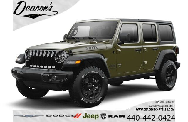 2021 Jeep Wrangler UNLIMITED WILLYS 4X4 Mayfield Village OH