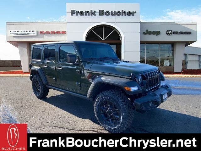 2021 Jeep Wrangler UNLIMITED WILLYS 4X4 Janesville WI
