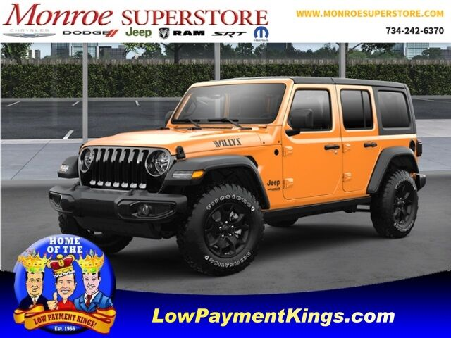2021 Jeep Wrangler UNLIMITED WILLYS 4X4 Monroe MI