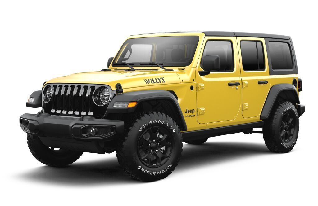 2021 Jeep Wrangler UNLIMITED WILLYS 4X4 Winter Haven FL