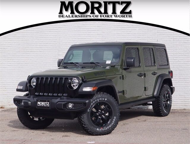 2021 Jeep Wrangler UNLIMITED WILLYS SPORT 4X4 Fort Worth TX