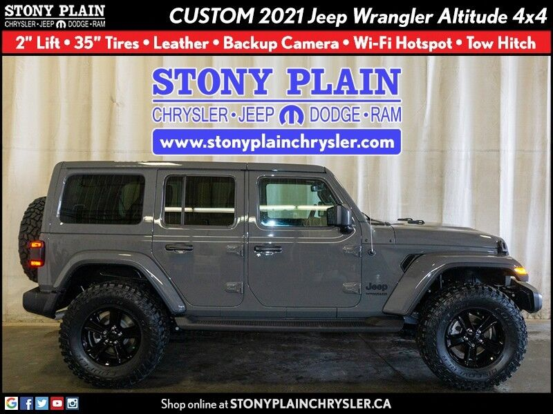 2021 Jeep Wrangler Unlimited Altitude