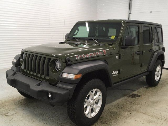 2021 Jeep Wrangler Unlimited Islander Sherwood Park AB