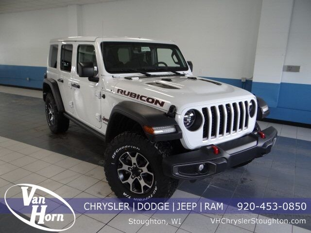 2021 Jeep Wrangler Unlimited Rubicon Stoughton WI