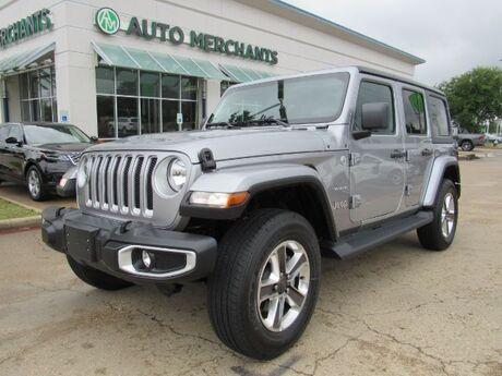 2021 Jeep Wrangler Unlimited Sahara Plano TX