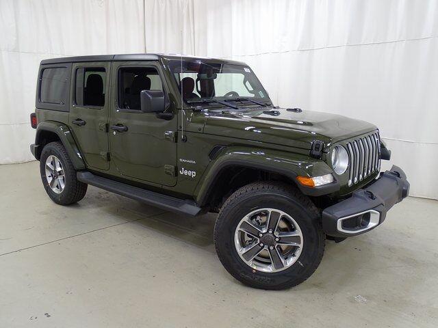 2021 Jeep Wrangler Unlimited Sahara Raleigh NC