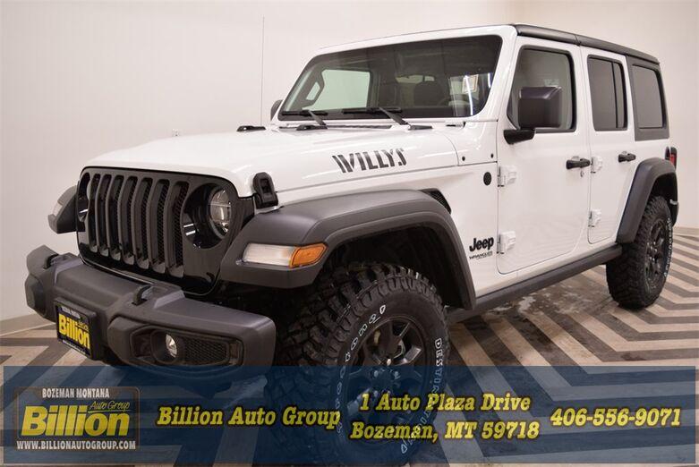 2021 Jeep Wrangler Unlimited Willys Bozeman MT