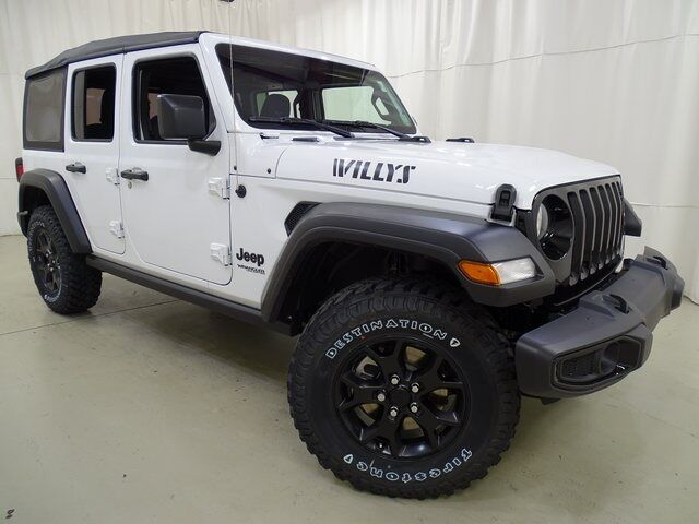 2021 Jeep Wrangler Unlimited Willys Raleigh NC