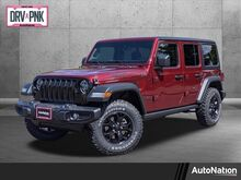 2021_Jeep_Wrangler_Unlimited Willys_ Roseville CA