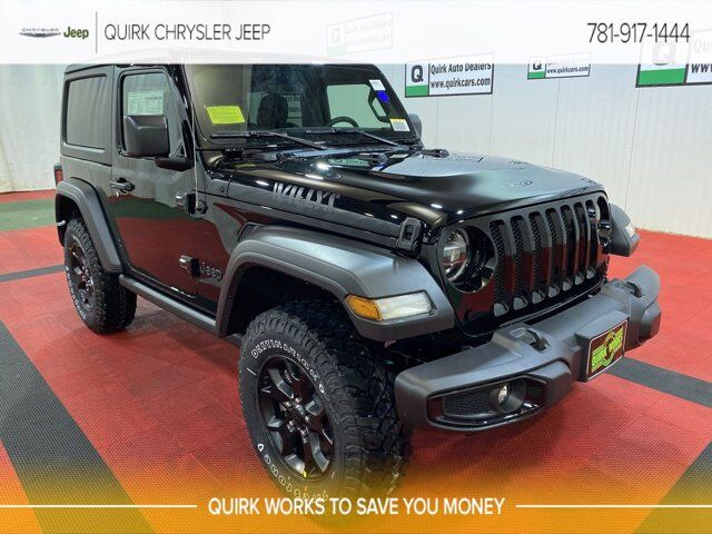 2021 Jeep Wrangler WILLYS 4X4 Braintree MA