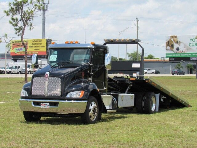 2021 Kenworth T270 22' Jerr-Dan Rollback Car Carrier Miami FL