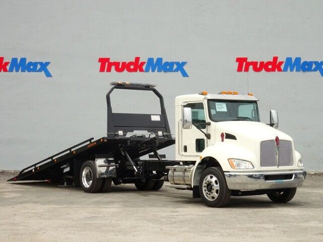 2021 Kenworth T270 22' Jerr-Dan Rollback Car Carrier