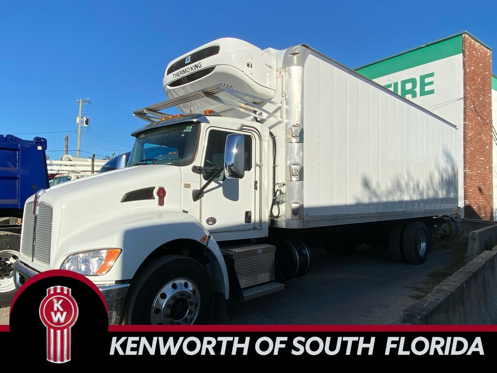 2021 Kenworth T270 Refrigerated Body Fort Lauderdale FL