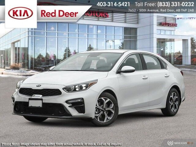 2021 Kia Forte EX Red Deer AB