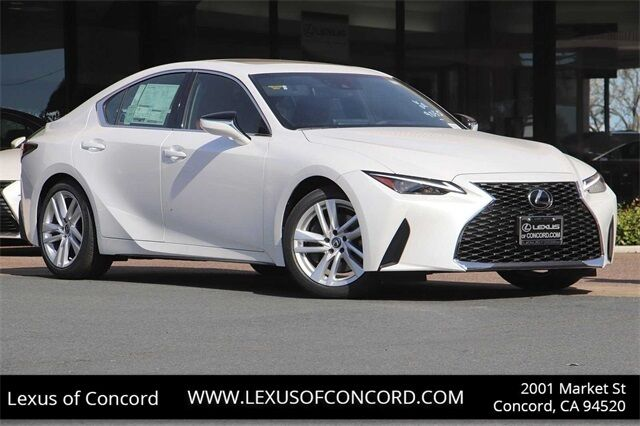 2021 Lexus IS 300 Concord CA
