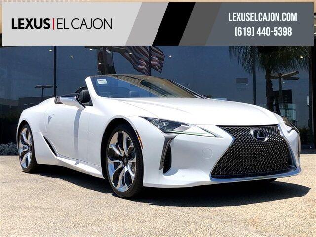 2021 Lexus LC 500 San Diego County CA