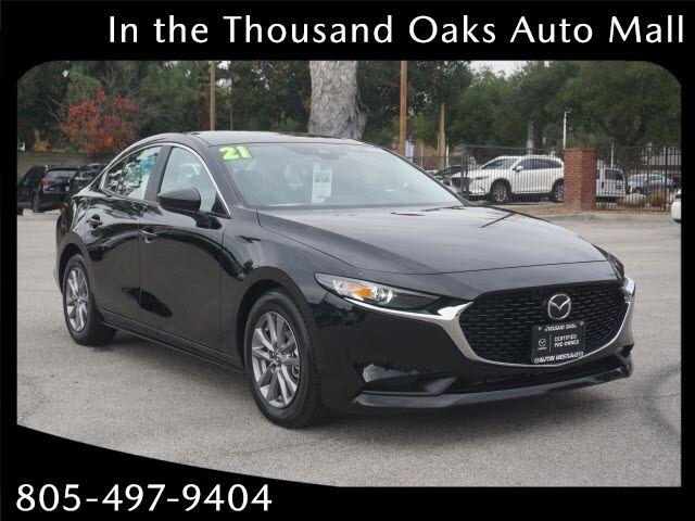 2021 Mazda Mazda3 Sedan MAZDA Thousand Oaks CA