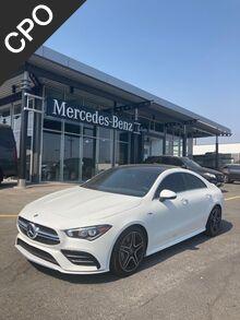 2021_Mercedes-Benz_AMG® CLA 35 Coupe__ Yakima WA