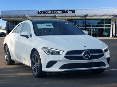 2021_Mercedes-Benz_CLA_250 4MATIC® COUPE_  Novi MI