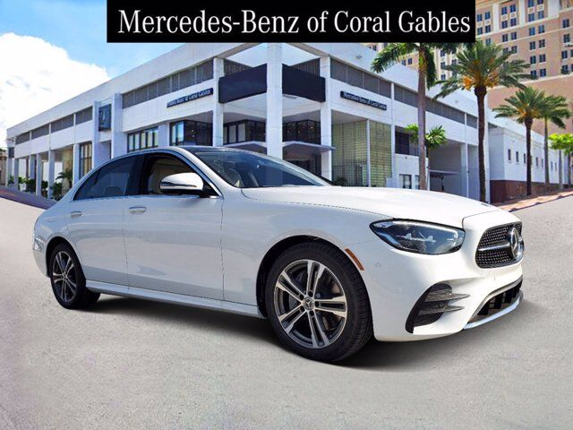 2021 Mercedes-Benz E 350 4MATIC® Sedan Coral Gables FL