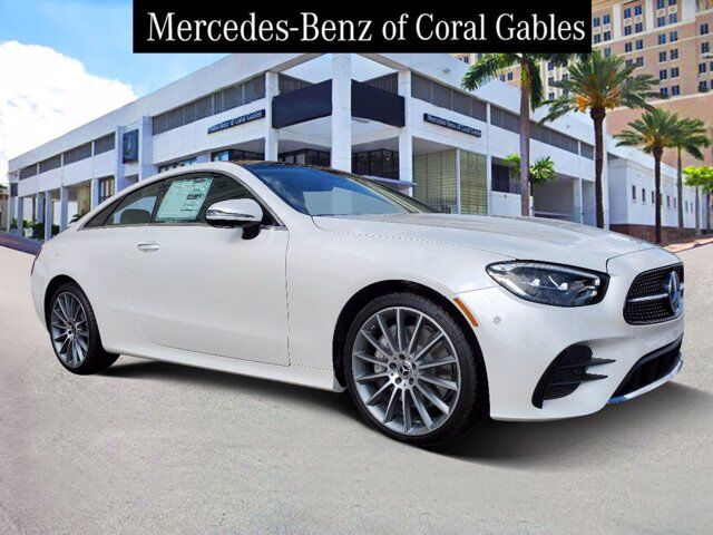 2021 Mercedes-Benz E 450 4MATIC® Coupe Coral Gables FL