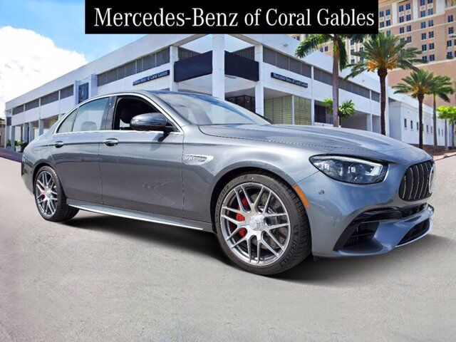 2021 Mercedes-Benz E AMG® 63 S Sedan # MA931722 Coral Gables FL