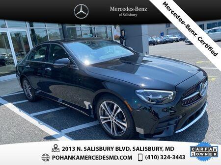 2021_Mercedes-Benz_E-Class_E 350 4MATIC®** Mercedes-Benz Certified **_ Salisbury MD