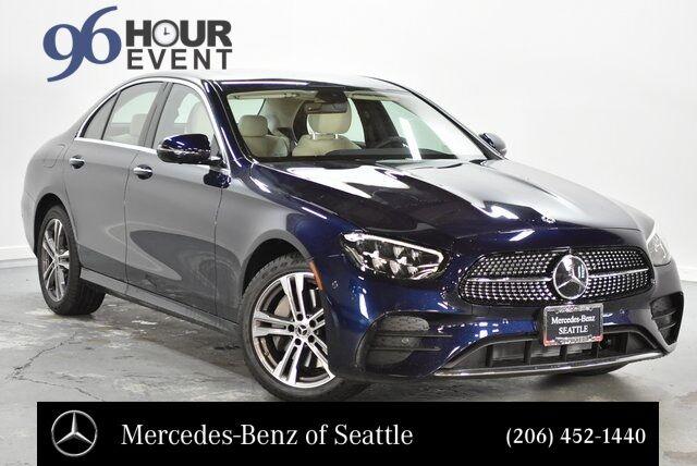 New 2021 Mercedes Benz E Class E 350 4matic Reg Sedan In Seattle Wa
