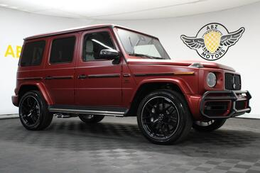 2021_Mercedes-Benz_G-Class_AMG G 63 G Manufactur Cardinal Red Magno 1 of 100 Made Special Unit_ Houston TX