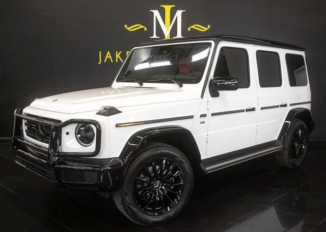 2021 Mercedes-Benz G-Class G550 DESIGNO *EXCLUSIVE INTERIOR* NIGHT PACKAGE *WHITE ON RED San Diego CA