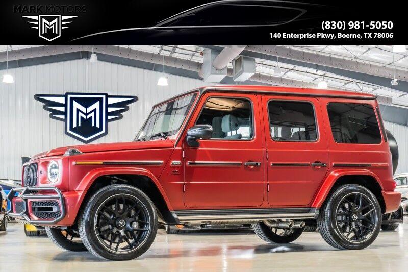 2021_Mercedes-Benz_G63_- G MANUFAKTUR EXCLUSIVE EDITION - 1 OF 100_ Boerne TX