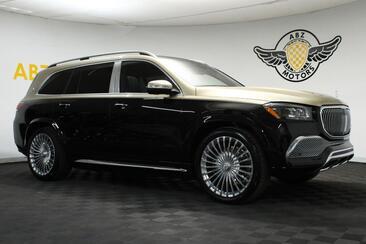 2021_Mercedes-Benz_GLS_Maybach GLS 600 Obsidian Black Kalahari Gold $ Place Seating Fridge_ Houston TX